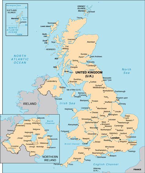 map uk with cities map uk mapsof net