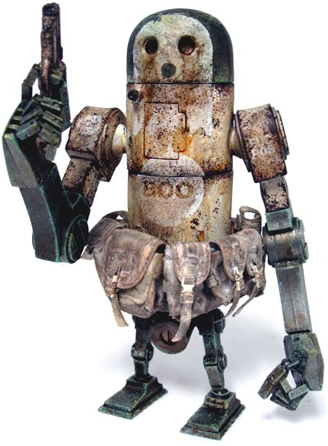 Threea 3a Severed Robot 12 ghost bertie mk 2 by wood from three trt library
