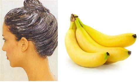 Pelembab Rambut Kering masker pisang cara merawat rambut kering secara alami