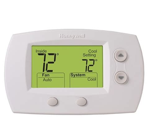 honeywell focuspro 5000 wiring diagram honeywell focus pro 5000 non programmable thermostat