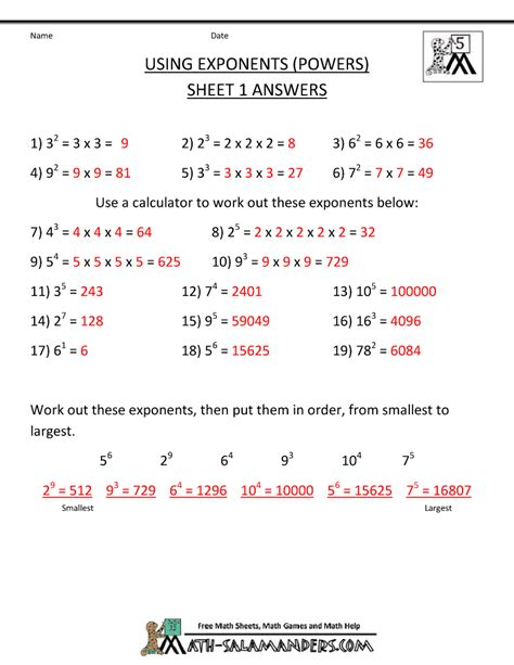 6 Grade Math Worksheets With Answer Key by Math Engaged Immigrant Youth