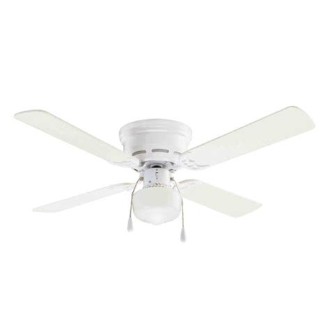 mainstays 42 quot ceiling fan with lighting white paint