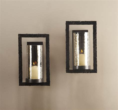 Bronze Wall Sconce Pair Tomar Contemporary Bronze Rectangle Wall Sconce Kathy Kuo Home