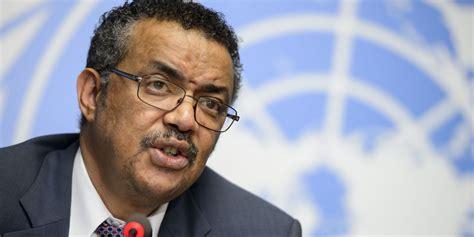 tedros adhanom ghebreyesus why dr tedros adhanom of ethiopia should lead the world