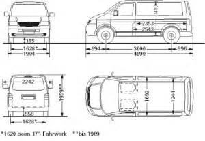 Sprinter Van Dimensions Interior Volkswagen Transporter Dimensions Images