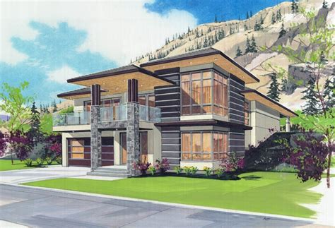 modern home design kelowna transitional style finds a home in kettle valley