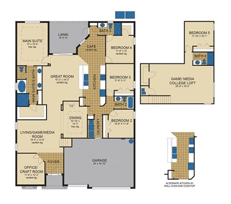 inland homes floor plans inland homes the devonshire at lake jovita intended for