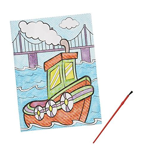 Melissa Doug My First Paint With Water Coloring Book Paint With Water Coloring Books