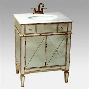 Mirrored Bathroom Vanity With Sink Afton Mirrored Vanity With Sink Traditional Bathroom Vanities And Sink Consoles By Hayneedle