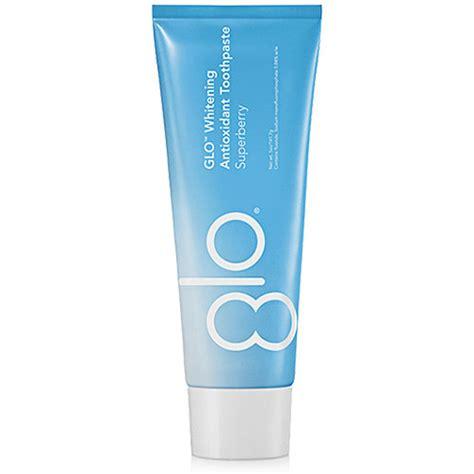 glo whitening antioxidant toothpaste  smiloxcom