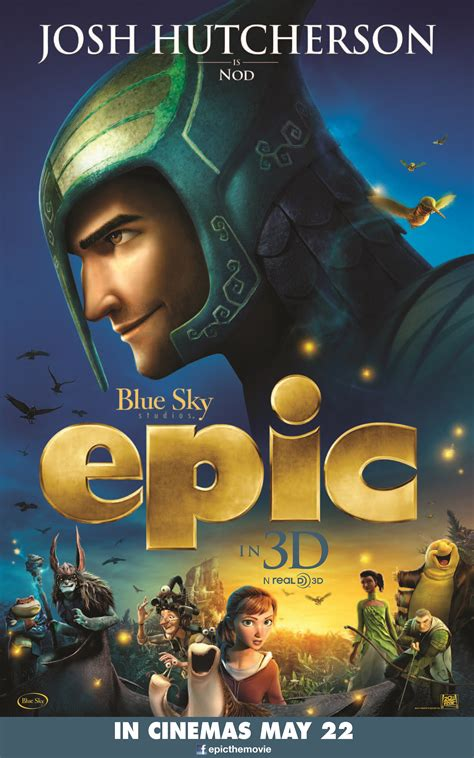 epic film d animation epic character posters