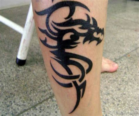 tribal leg tattoo designs 50 looking tattoos for leg