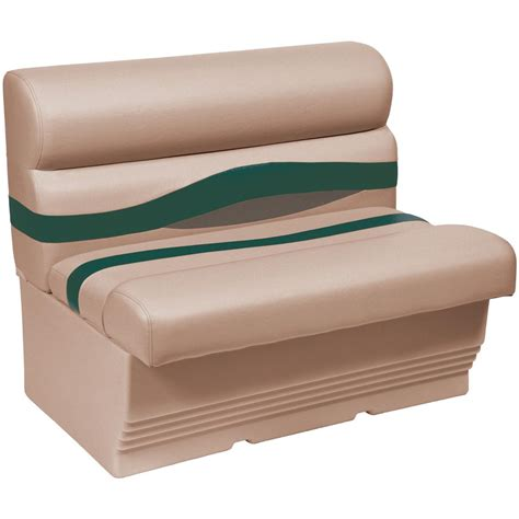 wise bench seat wise 174 premier 1100 series 36 quot pontoon bench seat 222121