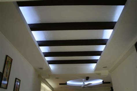 Wooden False Ceiling A Unique Combination Of Contemporary Decor With