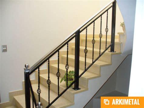 barandillas de hierro para escaleras baranda de escalera en hierro forjado con pasamanos en