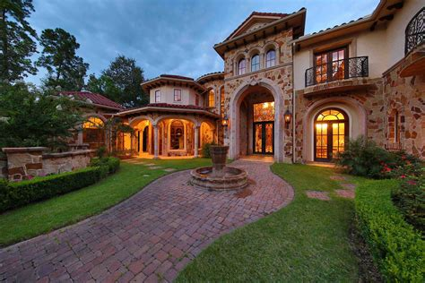 Southwest Style Homes 4 Houston Mansions Perfect For Fortune 500 Executives