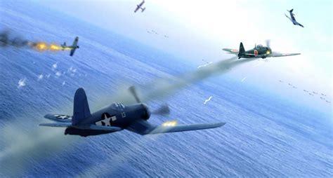 aviation aircraft airplane war dogfight art ww japanese