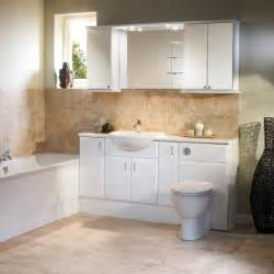 White Bathroom Furniture Uk Capella White Fitted Bathroom Furniture Roper