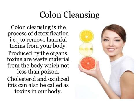 Detox To Remove All Waste From The by Colon Cleanse