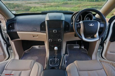 Interior Of Mahindra Xuv 500 by Mahindra Xuv500 Automatic Official Review Team Bhp