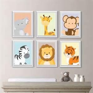 baby nursery print animal nursery decor jungle nursery