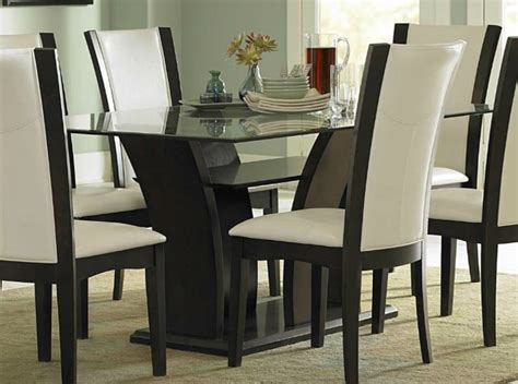 white leather chairs for dining table the most sophisticated white leather dining chairs