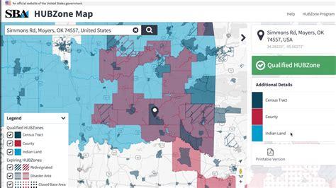 sba hubzone map new hubzone map mini primer map layers 1