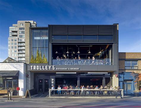 Trolly Cafe Resto trolley five restaurant in calgary e architect