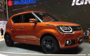 new suzuki car in india suzuki ignis showcased at tokyo motor show india launch