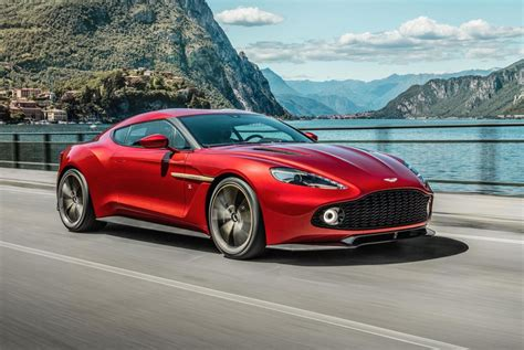 aston martin front aston martin vanquish zagato production car revealed