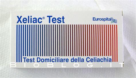 test celiachia test casalingo per la celiachia xeliac test bioblog