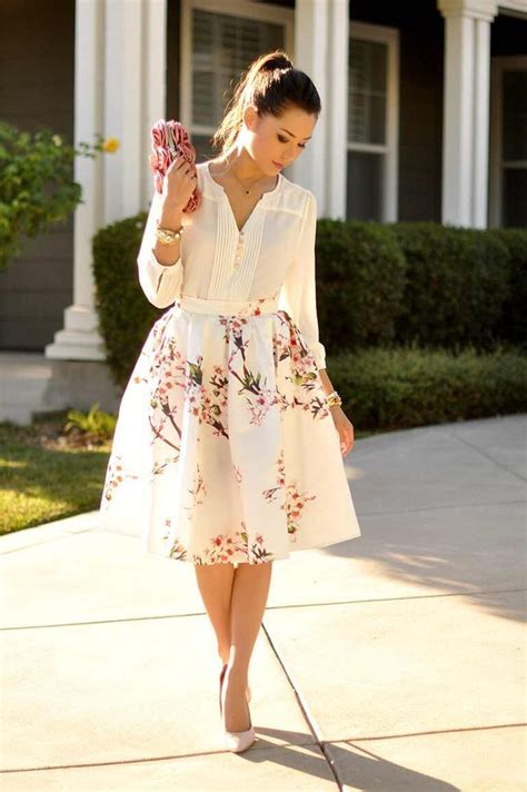 Office Hours Blossom Blouse Pink 17 best ideas about flare skirt on