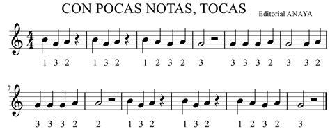cancion de cuna para flauta canciones 4 186 primaria la flauta tutu