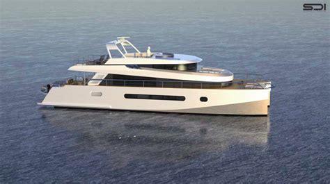 catamaran vs motor yacht alu marine yacht charter superyacht news