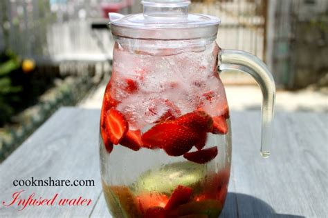 Strawberry And Kiwi Detox Water by Pi 241 A Colada Cook N World Cuisines