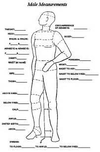 pattern drafting measurement chart men s measurement chart costumes pinterest chart