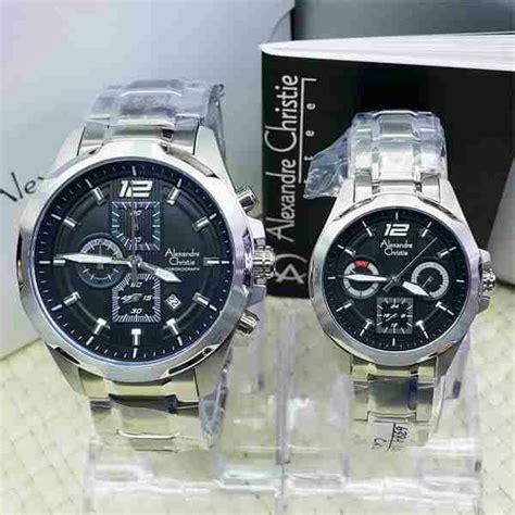 Alexandre Christie Ac 6442mc Silver Original Dan Bergaransi Resmi jam tangan ac 6384 silver sepasang alexandre christie