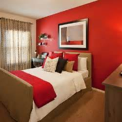 Bedroom red accent wall i never though of doing an accent wall