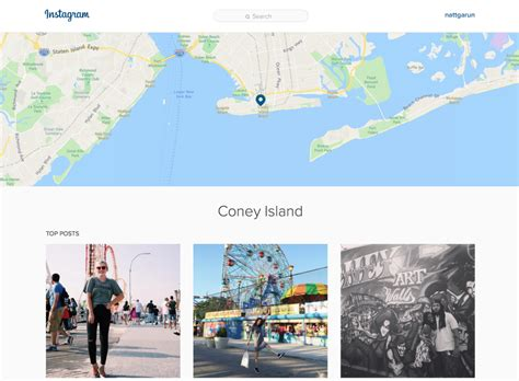 instagram locations instagram finally brings its search functionality to the web
