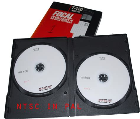 come riversare cassette vhs su dvd riversamento vhs con formato ntsc in dvd editing
