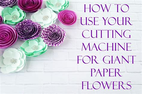 Mama S Gone Crafty How To Upload A Svg To Cricut Design Space Large Paper Flower Template Cricut