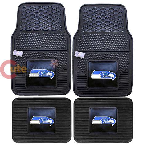 Nfl Car Mats by Seattle Seahawks Car Floor Mats Nfl Utility Mat 4pc