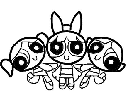 powerpuff girls coloring pages coloringpagesabc com