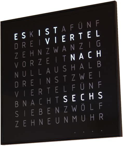 Uhr Schriftanzeige by W 246 Rter Funkuhr 3 Spaceflakes De