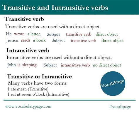 sentence pattern with transitive verb m 225 s de 1000 ideas sobre intransitive verb en pinterest
