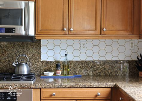 how to wallpaper a backsplash the homes i made