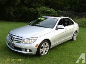 Mercedes 2009 C300 For Sale 2009 Mercedes C Class C300 4matic For Sale In