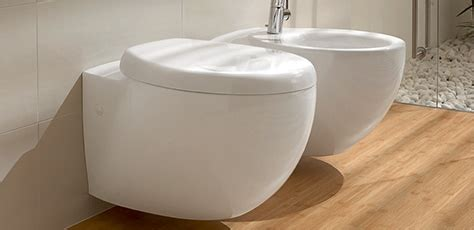 bidet badezimmer bidets from villeroy boch free standing or wall mounted