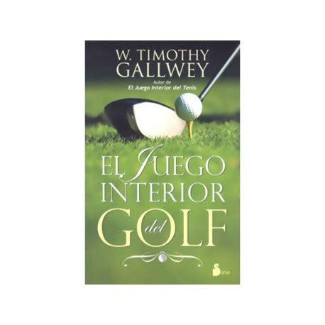 libro el juego interior del el juego interior del golf