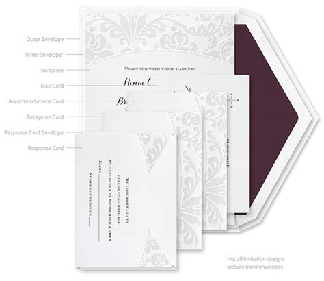 Wedding Invitation Assembly by How To Properly Assemble Wedding Invitations Crafted